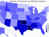 Texas Crime Map Crime In the United States Wikipedia