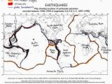 Texas Earthquake Map Color Coded and Labelled World Earthquake Map Good Activity 5th