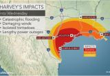Texas Flu Map torrential Rain to Evolve Into Flooding Disaster as Major Hurricane