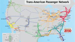 Texas High Speed Rail Map Our Maps America 2050