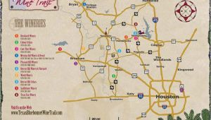 Texas Hill Country Wine Trail Map Map Of Wineries In Texas Business Ideas 2013