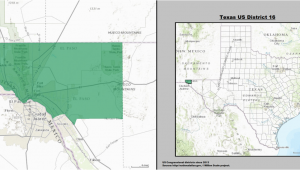 Texas House Of Representatives Map Texas S 16th Congressional District Wikipedia