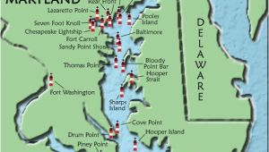 Texas Lighthouses Map Maryland Lighthouses I Want to See them All We Need A Vacation