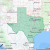 Texas Map with Zip Codes Listing Of All Zip Codes In the State Of Texas