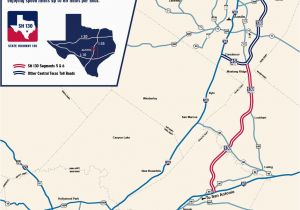 Texas Mile Marker Map State Highway 130 Maps Sh 130 the Fastest Way Between Austin San