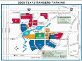 Texas Rangers Ballpark Map Texas Rangers Parking Lot Map Business Ideas 2013