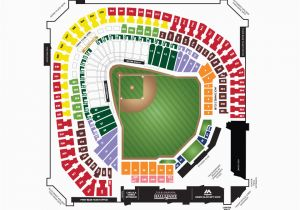 Texas Rangers Map Of Stadium Dallas Baptist University Night Mlb Com