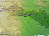 Texas Red River Map Red River Of the south Wikipedia
