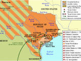 Texas Revolution Map 1836 Zinkplay Zinkplay On Pinterest