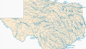 Texas Rivers and Streams Map Map Of Colorado River System Map Of Texas Lakes Streams and Rivers