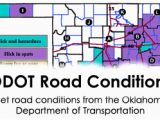 Texas Road Conditions Map Oklahoma Weather Road Conditions News Ok