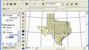 Texas State Plane Coordinate System Map Geo327g 386g Lab 2 Map Projections and Coordinate Systems