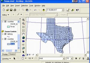 Texas State Plane Map Geo327g 386g Lab 2 Map Projections and Coordinate Systems