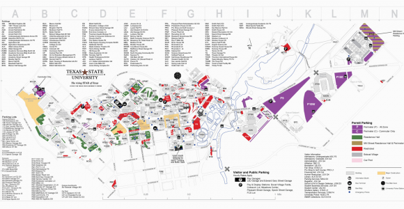 Texas State University Campus Map Map Texas State Business Ideas 2013