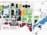 Texas State University Map Of Campus Campus Map Midwestern State University