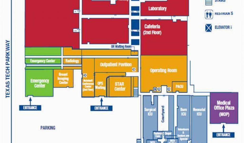 Texas Tech Campus Map 12 Ttu Campus Map