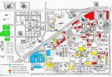 Texas Tech Map Of Campus Thursday Game Brings Parking Challenges News Dailytoreador Com