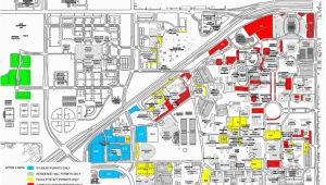Texas Tech Map Of Campus Thursday Game Brings Parking Challenges News Dailytoreador Com