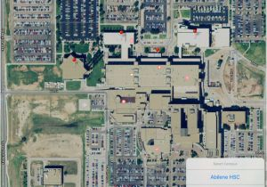 Texas Tech Parking Map 12 Ttu Campus Map ...