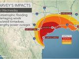 Texas Weather Radar Maps torrential Rain to Evolve Into Flooding Disaster as Major Hurricane