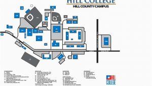 Texas Wesleyan University Map Locations