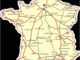 Tgv Lines France Map France Railways Map and French Train Travel Information
