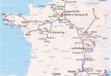 Tgv Routes France Map Image Detail for France Train Map Of Tgv High Speed Train