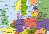 The Continent Of Europe Map Map Of Europe Countries January 2013 Map Of Europe