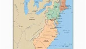 The New England Colonies Map the First Thirteen States 1779 History Wall Maps Globes