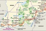 The Ohio River On A Map Indiana Scenic Drives Ohio River Scenic byway Indiana the Place