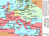 The Reformation Religious Map Of Europe 1600 the Abrahamic Western Religions Darby Matt Medium