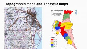 Thematic Maps Of Canada Cartography topographic Maps and thematic Maps 1 Simplification