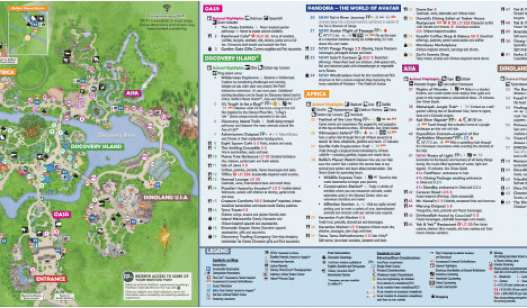 Theme Parks In California Map Disney World Maps Download for ...