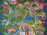 Theme Parks In England Map Alton towers Map Staffordshire England for 1994 theme Alton