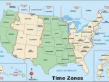 Time Zone Map Of Texas United States Of America Map with Time Zones Congresbureauflevoland