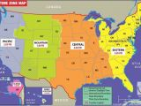 Time Zone Map Of Us and Canada States Map Of Usa with Capitals Usa Time Zone Map Current
