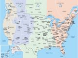 Time Zone Map Of Us and Canada Us Canada Map with Cities America Time Zone Map Us
