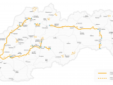 Toll Roads In France Map Highway Vignettes Slovakia tolls Eu