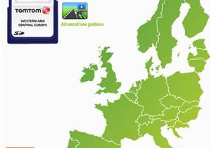 Tomtom Spain Map tomtom Maps Of Western Europe 1gb 930 5601 5604 Retail Navigon