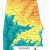 Topographic Map Of Dothan Alabama Alabama topographic Map Words and Pictures Pinterest Alabama