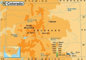 Topographical Map Of Colorado Springs topographic Map East Coast Usa