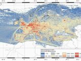 Topographical Map Of Europe Maps On the Web Co2 Emissions In 2014 In Europe Maps