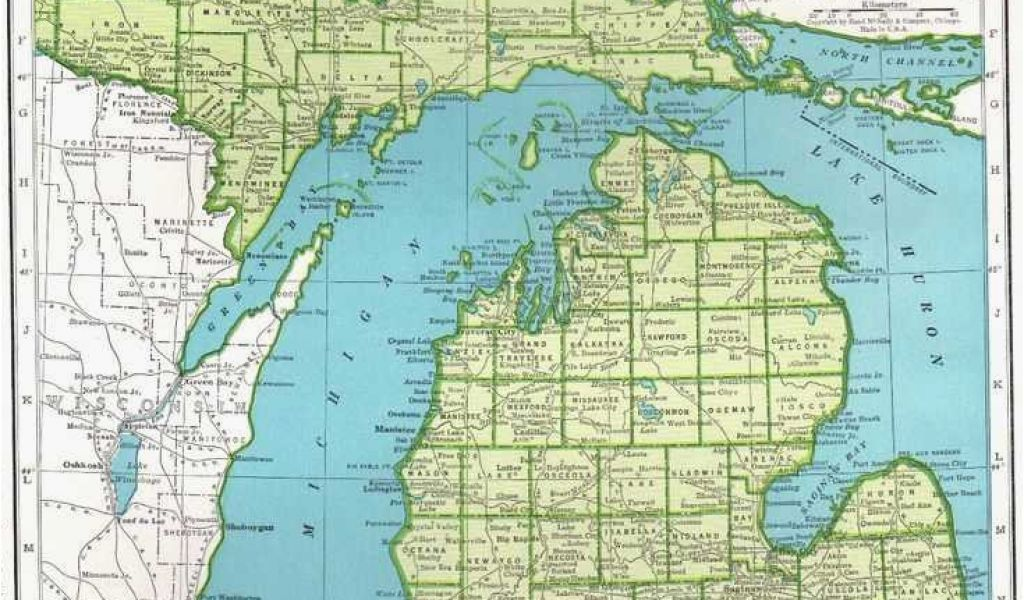 Topographical Map Of Michigan Michigan Elevation Map Elegant