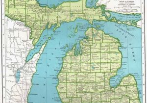 Topographical Map Of Michigan Michigan Elevation Map Luxury Picture