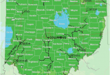 Toronto Ohio Map Map Of Usda Hardiness Zones for Ohio