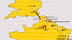 Tour De France 2014 Yorkshire Route Map tour De France 2014 the Rumours About the Race Route and