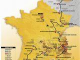 Tour De France Course Map Die Strecke Der tour De France 2017