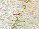 Tour De France Stage 10 Map 10 Etapa Saint Flour Albi tour De France 2019