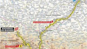 Tour De France Stage 12 Map A 2019 Es tour De France Aotvonala Terkepek Szintrajzok Flowcycle
