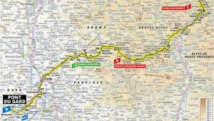 Tour De France Stage 17 Route Map Tdf 2019 Stage 17 Pont Du Gard Gap 24 07 2019 Stage 17